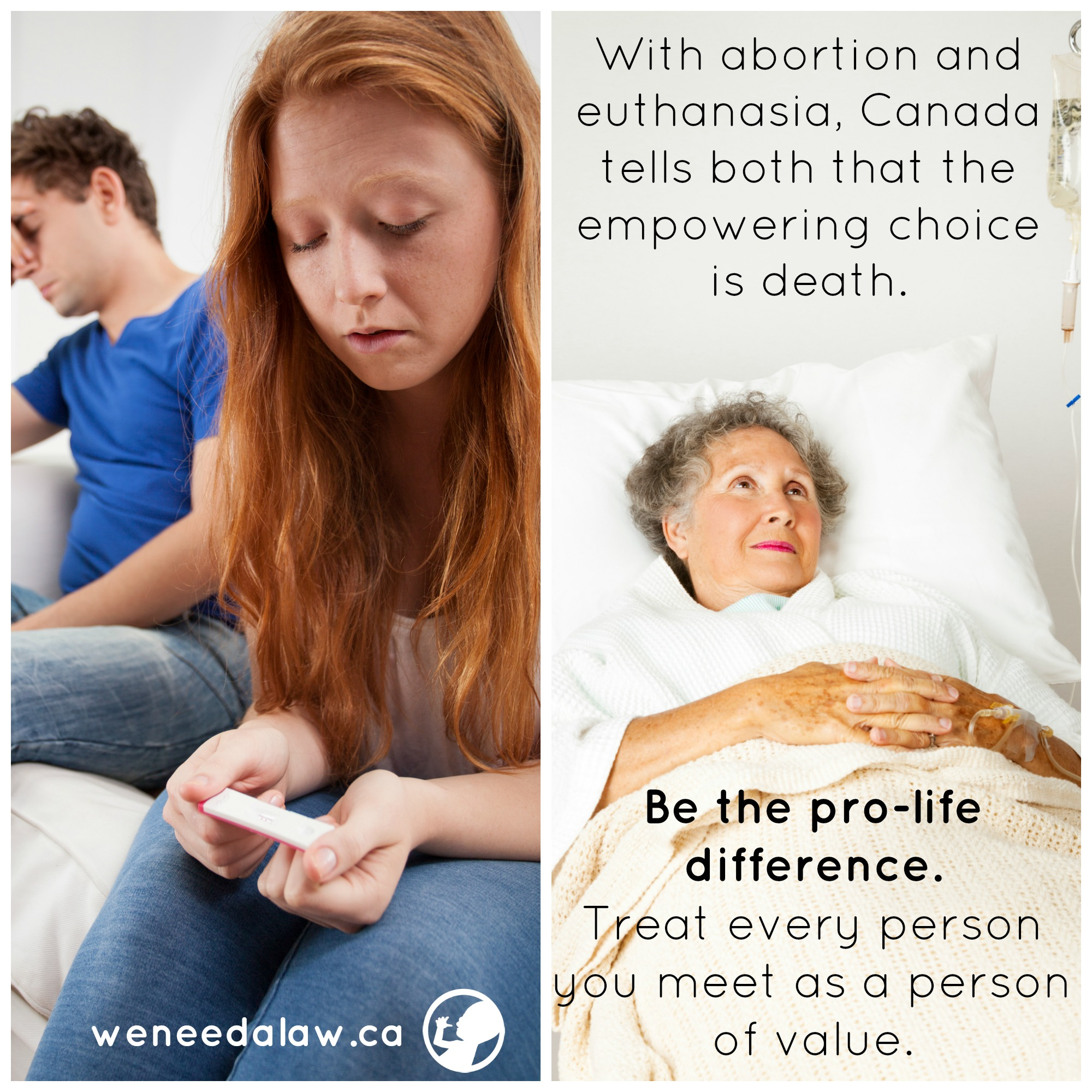 pro-life collage