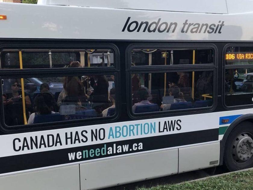 anti-abortion bus ads
